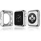 Apple iWatch Aluminium Alloy Bumper Protector Case - 42mm - Silver - R165248