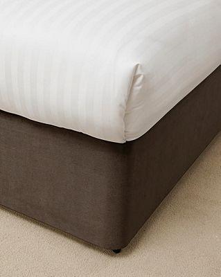 Belledorm 15 Inch Chocolate Bed Base Wrap - Super King