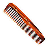 Kent R7T 143mm Small Fine Coarse Toothed Pocket Hair Comb