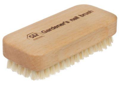 Redecker Gardeners Beechwood Nail Brush with Tampico Fibre Bristles 622561