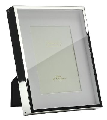 Addison Ross Photo Frame Silver Plate Box Frame - 5 in x 7 in