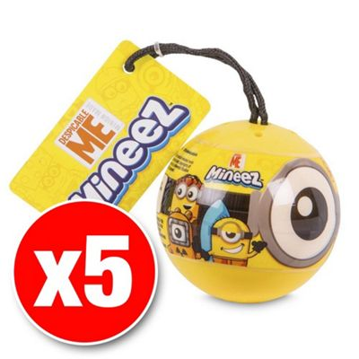 Despicable Me Mineez Blind Pack Series 1 (Five Supplied)
