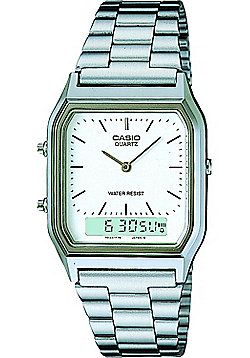Casio Computer AQ230A-7DMQ Mens Classic Combi Watch