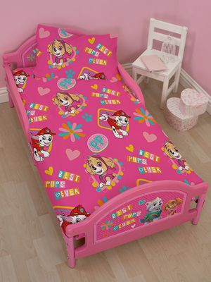 Paw Patrol Forever Junior Toddler Bed - Fully Sprung Mattress