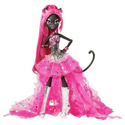 Monster High - Catty Noir Doll - Tesco Exclusive