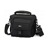Lowepro Nova 160AW DSLR Shoulder Bag Black Weather-Protective DSLR Shoulder Bag Packed with Premium Features LP35248-PEU