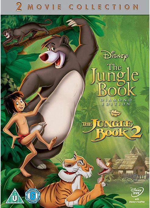 The Jungle Book Boxset (1&2) -  DVD
