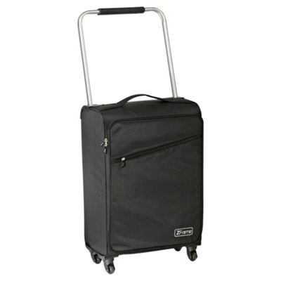 Z Frame Super-Lightweight 4-Wheel Medium Black Suitcase
