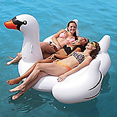 Jumbo Inflatable Swan Lounger