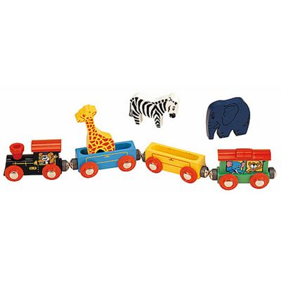 Animal Train Classic For Wooden Railway Train Set 50821 - Brio Compatible