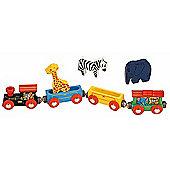 Animal Train Classic For Wooden Railway Train Set 50821 - Brio Compatible