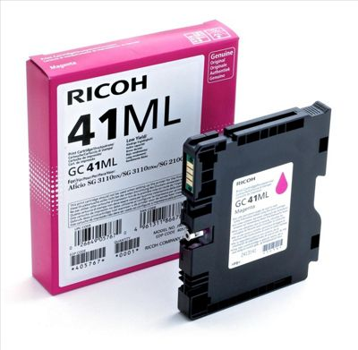 Ricoh 405767 Magenta ink cartridge GC 41ML 600 Pages
