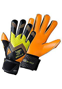 Sells Axis 360 Detonate Goalkeeper Gloves Size - Orange