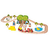 Bigjigs Rail Farm Train Set