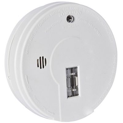 kidde battery operated smoke alarm with hush button and escape light