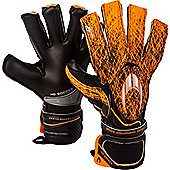 ho Ghotta Infinity Roll/Neg Junior Goalkeeper Gloves - Black