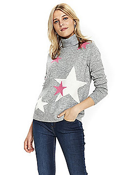 Wallis Star Jumper - Grey