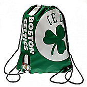 NBA Basketball Boston Celtics Cropped Logo Drawstring Backpack 49x34x1.5cm
