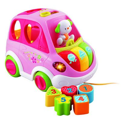 Buy VTech Sort and Learn Car - Pink from our Toys for 18-24 months ...