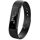 Aquarius AQ115 Fitness Activity Tracker Smartwatch with Sports Wristband - Black