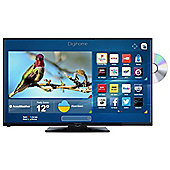 Digihome 24HDDVDCNTD 24 Inch HD T2 Smart LED TV/DVD combi with Freeview Play