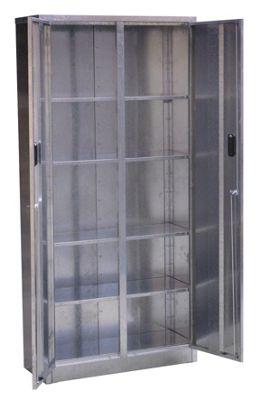 Sealey GSC86335 - Galvanized Steel Floor Cabinet 5 Shelf