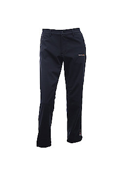 Regatta Mens Geo Softshell II Trousers - Black
