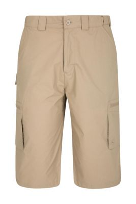 d84b8d366517e Mountain Warehouse Trek Stretch Mens Long Shorts Catalogue Number: 120-0189