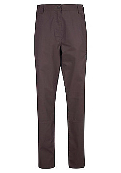 Mountain Warehouse Womens Lightweight Technical Trouser with Fast Drying Fabric - Brown
