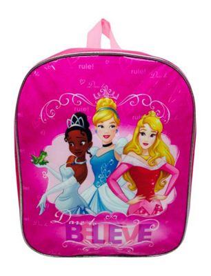 Disney Princess 'Believe' Junior School Bag Rucksack Backpack