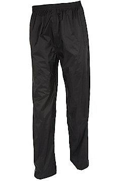 Pakka Womens 31' Long Overtrouser Waterproof Trousers Taped Seams - Black