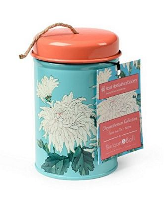 Burgon & Ball Twine in a Tin Chrysanthemum Design GRHTWINECHRYS
