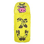 Kids Sleeping Bag - Jungle Animal Giraffe/Crocodile/Tiger/Elephant - Yellowstone