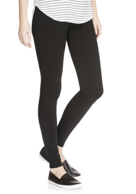 F&F High Waisted Leggings 12 Black