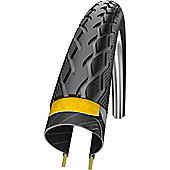Schwalbe Marathon Deluxe Evo Double Defence RoadStar Compound Folding in Black/Reflex - 700 x 38mm