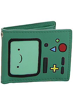 Adventure Time Beemo Bifold Green AT Wallet