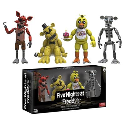 Five Nights At Freddy'S 4 Pack Action Figures Fnaf