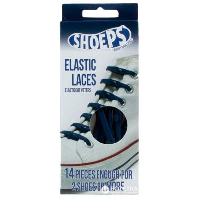 Shoeps In Your Shoes Elastic Laces *Navy Blue*