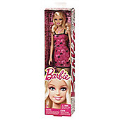 Barbie Basic Doll - Pink And Black Barbie Head Dress