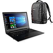 "Lenovo V110 - 80TD004DUK - 15.6"" Laptop AMD A9 9410 8GB 1TB Windows 10 Pro with Backpack"