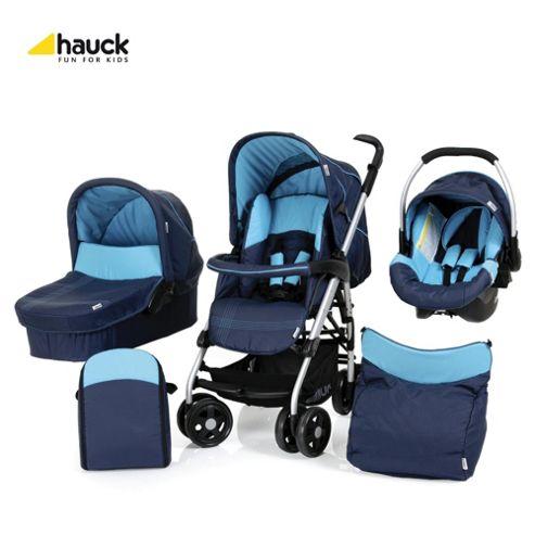 Hauck Condor All-In-One Pushchair, Moonlight/Capri