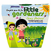 Little Gardeners Grass Haircut Activity Pot Growing Kit