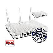 DrayTek Vigor 2860ac AC1600 Triple-WAN Dual-Band ADSL2+/VDSL2 WiFi Router w/ Load Balancing