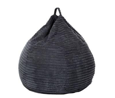 Kaikoo Cord Bean Bag Grey