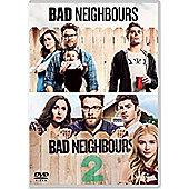 Bad Neighbours / Bad Neighbours 2 DVD