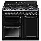 Smeg TR103BL 100cm DF - Range Cooker - Black