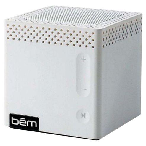 Bem Bluetooth Portable Speaker White