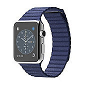Apple Watch 1st Generation 42mm Blue large Leather Loop