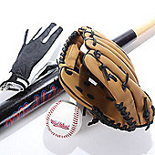 Midwest Junior Baseball Set Bat Ball Glove & Catching Mitt