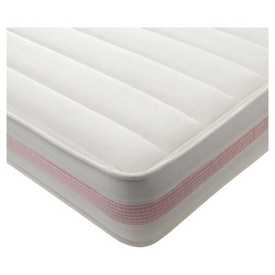 Kids Single Mattress - Deluxe, Pink Gingham